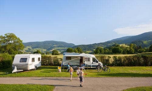 Campingplatz in kirchzarten bei freiburg dreisamtal im schwarzwald
